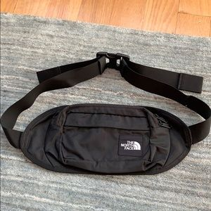 North Face Black Waist Fanny Pack Gorpcore Logo
